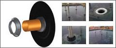 Герметизация вентиляционных каналов и фановой трубы с помощью HL 800